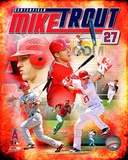Mike Trout 2012 Portrait Plus Photo