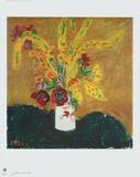 The White Vase Collectable Print by Tatjana Alexejewna Mawrina