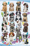Keith Kimberlin Puppy Headphones Print