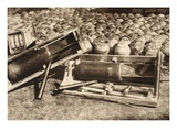 Russian Mine Stock in Kosova, East Galicia (B/W Photo) Giclee Print by  German photographer