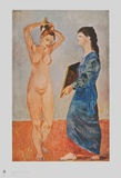 La Toilette Collectable Print by Pablo Picasso