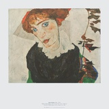Portrait Wally Neuzil , 1912 Prints by Egon Schiele
