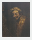 Self-portrrait Laughing Collectable Print by  Rembrandt van Rijn