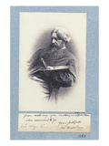 Portrait of Ford Madox Brown (1821-93) C.1870 (Platinum Print) Giclee Print by Frederick Hollyer
