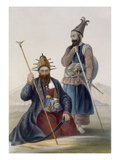 Chief Executioner and Assistant of His Majesty the Late Shah, Plate 14 Giclee Print by James Rattray