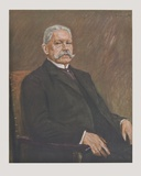 Portrait of Hindenburg Collectable Print by Max Liebermann