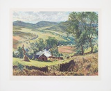 Late Summer in Scotland - Borlands Mill, Kirkmich. Collectable Print by J. McIntosh Patrick