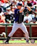 Chase Headley 2012 Action Photo