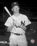 Mickey Mantle Posed Photo