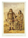 Chukchi Nomads, Engraved by Winckelmann and Sons (Litho) Premium Giclee Print by  Zakharov
