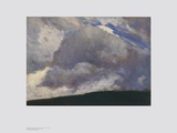The Cloud Prints by Otto Modersohn