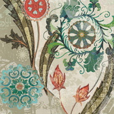 Royal Tapestry I Poster von Carol Robinson