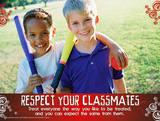 Respect Classmates Posters