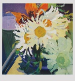 Marguerites Collectable Print by Robert Dash