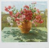 Bush-roses Sammlerdrucke von Hedwig Neumann