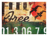 Feel Free Giclée-tryk af Rodney White