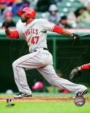Howie Kendrick 2012 Action Photo