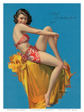 O Kay, Pin Up Girl c.1937 Art by Rolf Armstrong