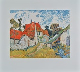Road in Auvers Collectable Print by Vincent van Gogh