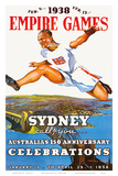 Sydney Empire Games c.1938 Posters by Charles Meere