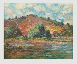 Seine Landscape Collectable Print by Claude Monet