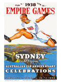 Sydney Empire Games c.1938 Prints by Charles Meere