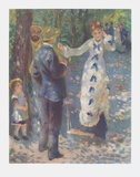 The Swing Collectable Print by Pierre-Auguste Renoir