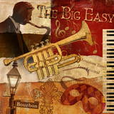 The Big Easy Poster by Conrad Knutsen