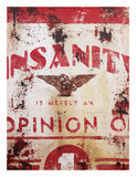 Insanity Giclee Print by Rodney White