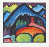 Road near Murnau Collectable Print by Alexej Von Jawlensky