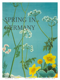 Spring in Germany c.1950s Art by Sigrid and Hans Lammle
