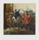 The Flight into Egypt Collectable Print by Wolf Huber
