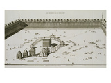 The Temple of Mecca (Engraving) Giclee Print by  French