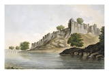 Pl. 33 a View of the Fort of Ilionpoor Upon the Banks of the River Goomty Giclee Print by William Hodges