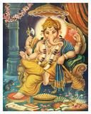 Lord Ganesha Lámina giclée