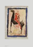 The Red Rider Art by Marino Marini