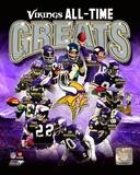 Minnesota Vikings All-Time Greats Composite Photo