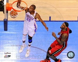 Kevin Durant Game 1 of the 2012 NBA Finals Action Photo