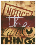 Notice The Little Things Lámina giclée por Rodney White