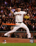 Matt Cain throws a Perfect Game AT&T Park June 13, 2012 with Overlay Photo