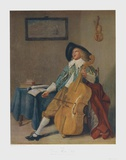 The Concertino Collectable Print by Frans Hals