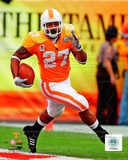 Arian Foster Univeristy of Tennessee Volunteers 2008 Action Photo
