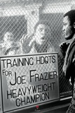 Muhammad Ali vs. Joe Frazier - Window Taunt Print