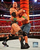 The Rock Wrestlemania 28 Action Photo