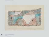 A Scrap of Community Collectable Print by Paul Klee