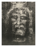 Shroud of Turin Giclée-tryk af Secondo Pia