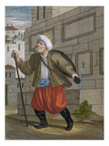 A Saka, Plate 59 Gicl&#233;e-Druck von Jean Baptiste Vanmour