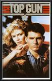 Top Gun Movie Tom Cruise and Kelly McGillis 80s Poster Print Poster