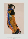 Moa, the Dancer, 1911 Taide tekijn Egon Schiele