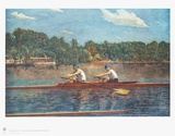 The Biglin Brothers at the Start of the Race Collectable Print by Thomas Cowperthwait Eakins